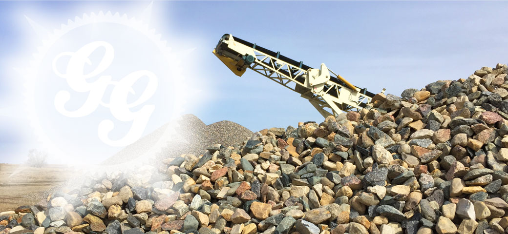 Gldburg Gravel crushed rock